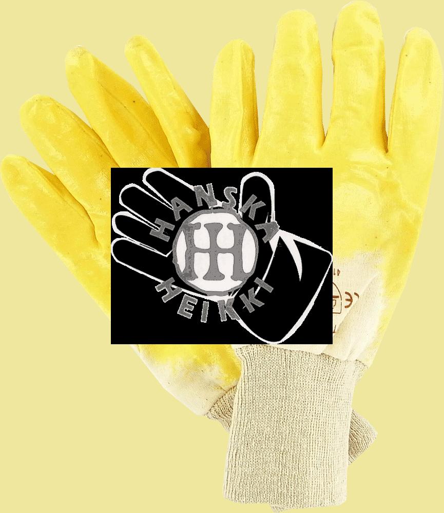 Nitriilipinnoitettu käsine, resoriranne