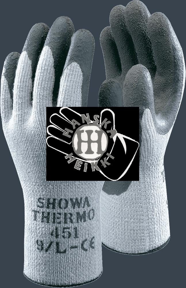 Showa 451 kylmältä suojaavat puuvillahanskat